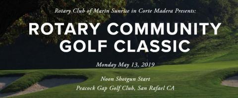Rotary Marin Golf Classic banner